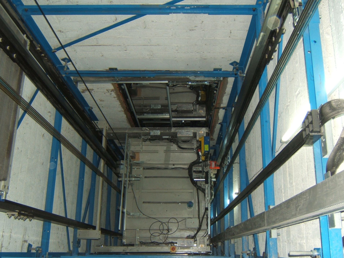 Steel Frame Lift Structures | Stannah
